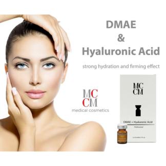 Pakiet: kwas hialuronowy i DMAE