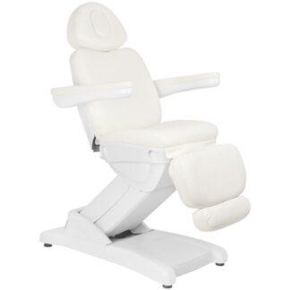 Fotel elektryczny biały Azzurro