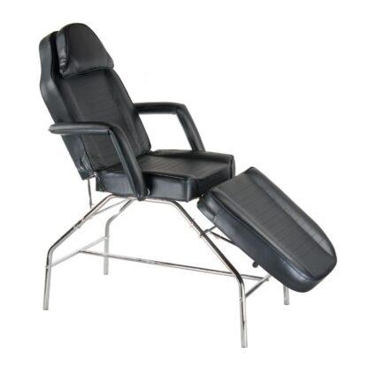 Fotel kosmetyczny czarny
