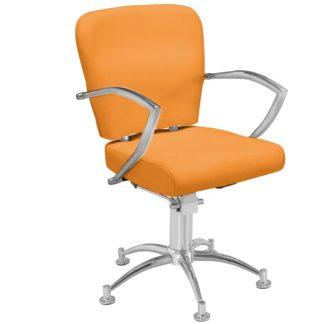 Gabbiano - fotel fryzjerski Q-0310 pomarańczowy
