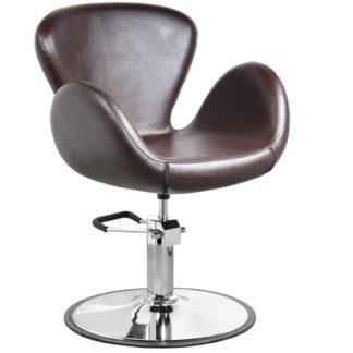 Gabbiano - fotel Amsterdam - brązowy