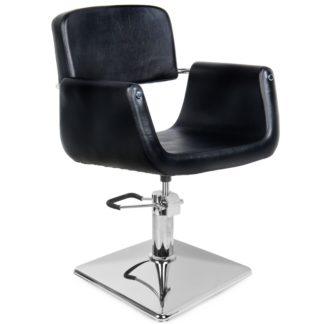 Gabbiano - fotel fryzjerski helsinki - czarny