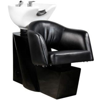 Gabbiano - myjnia fryzjerska Lizbona - czarna