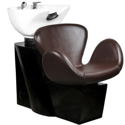 Gabbiano - myjnia fryzjerska Amsterdam - brązowa