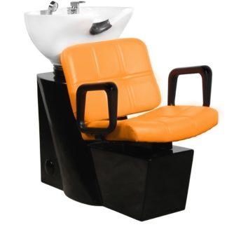 Gabbiano - myjnia fryzjerska Praga pomarańczowa