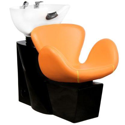 Gabbiano - myjnia fryzjerska Amsterdam - pomarańczowa