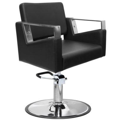 Gabbiano - fotel fryzjerski Wilno - czarny