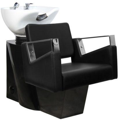 Gabbiano - myjnia fryzjerska Wilno - czarna