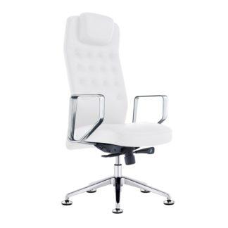 Fotel kosmetyczny - model Rico 199 - biały