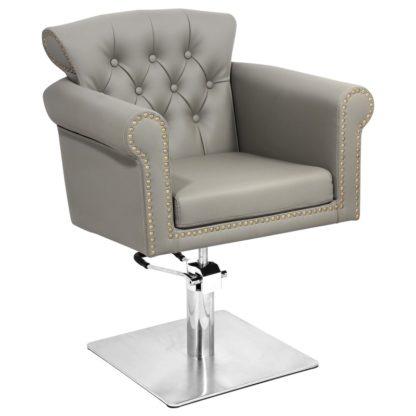 Gabbiano - fotel fryzjerski berlin - szary