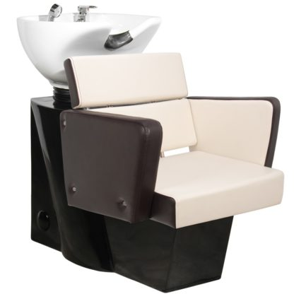 Gabbiano - myjnia fryzjerska Dublin brązowa - beżowa