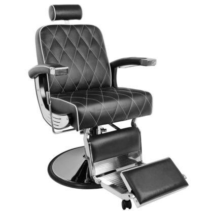 Fotel Gabbiano Imperial - czarny