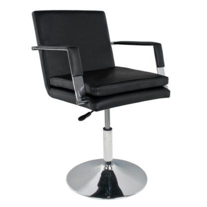 Gabbiano - fotel czarny - 049