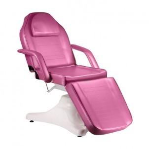 Fotel kosmetyczny C-8222 - wrzosowy