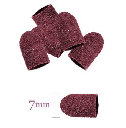 Kapturek ścierny A 7mm/60 - różowy - 100 sztuk