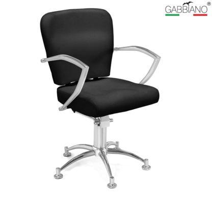 Gabbiano - fotel fryzjerski Q-0310 czarny
