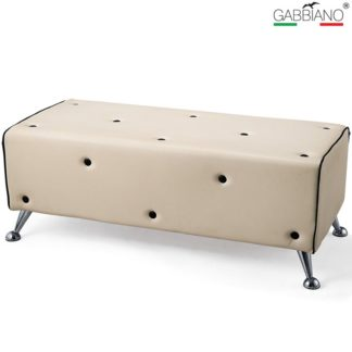Gabbiano - sofa do poczekalni Q-1967 - beżowa