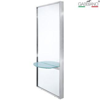 Gabbiano - konsola fryzjerska Q-2250 - srebrna