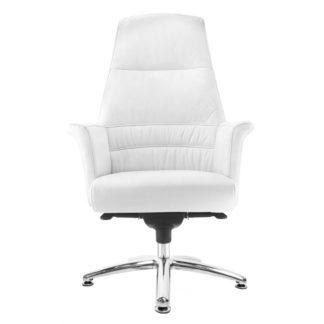 Fotel kosmetyczny - model Rico 167 - biały