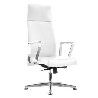 Fotel kosmetyczny - model Rico 156 - biały