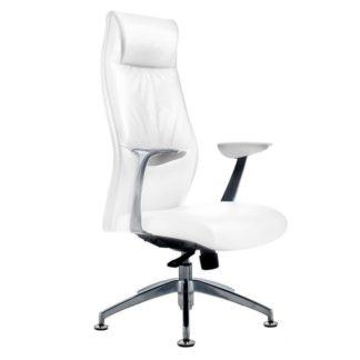 Fotel kosmetyczny - model Rico 184 - biały