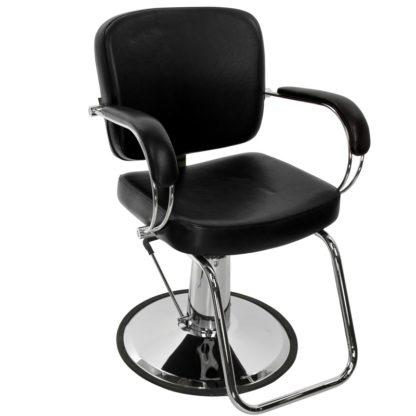 Gabbiano - Fotel fryzjerski Q-4811 - czarny