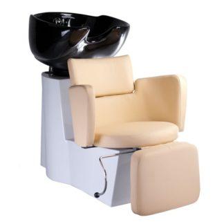 Myjnia fryzjerska LUIGI BR-3542 kremowa