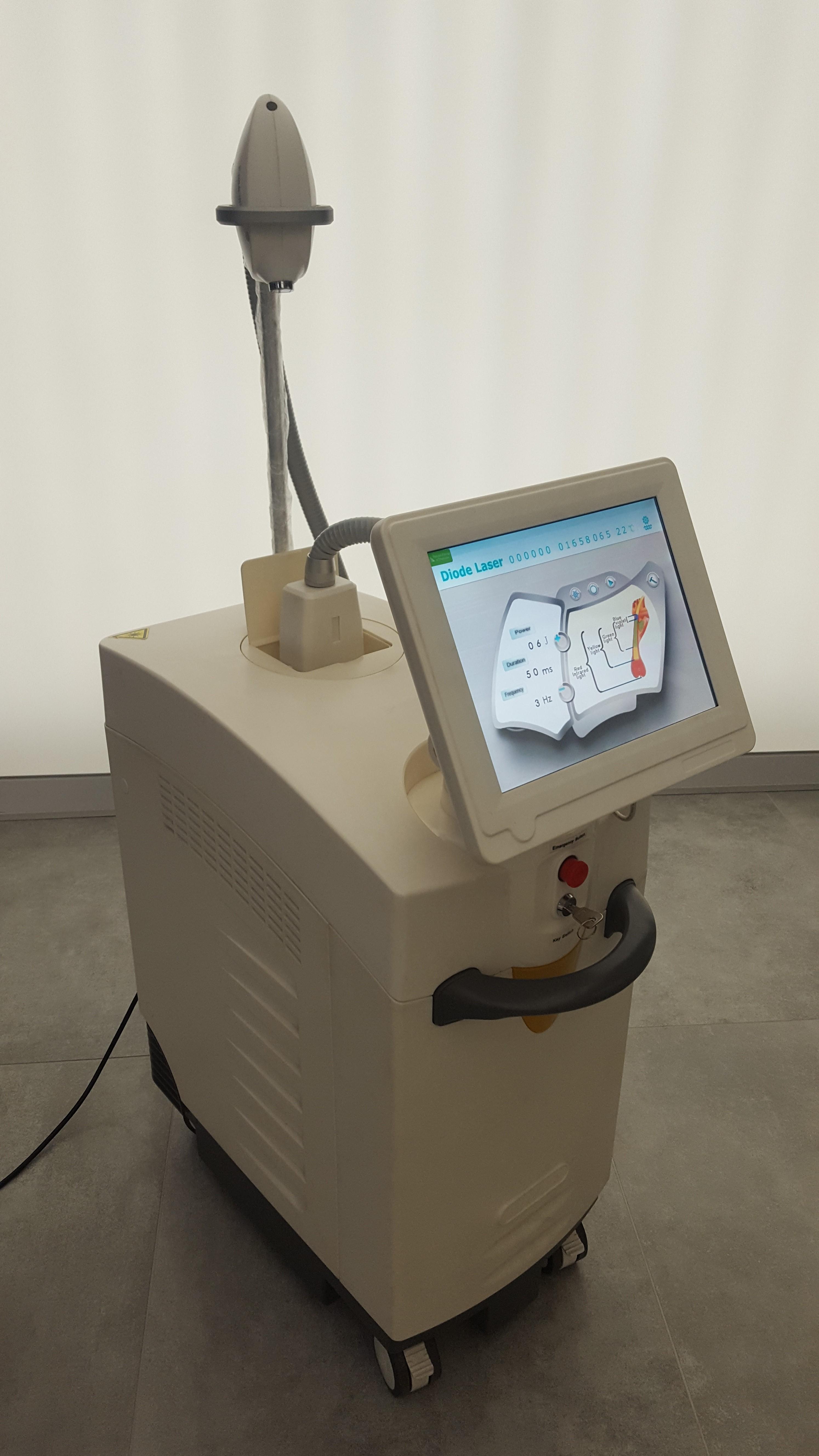 laser diodowy do depilacji 808 nm