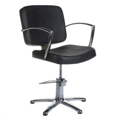 Fotel fryzjerski Dario czarny BH-8163