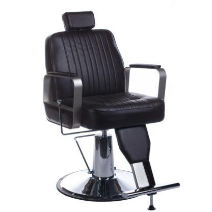 fotel barberski homer bh 31237 brazowy