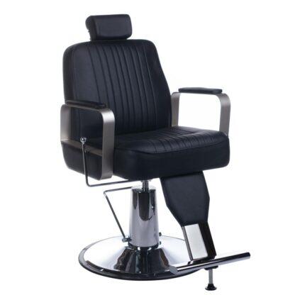 fotel barberski homer br 31237 czarny