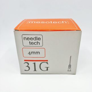 IGŁA DO MEZOTERAPII Mesotech 31G ( 0,25 x 4 mm)