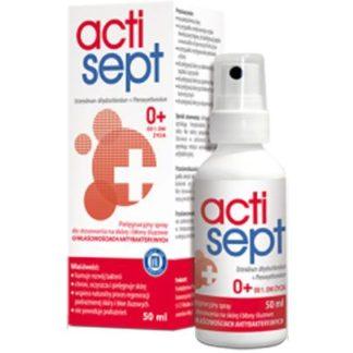 Actisept Spray na skórę i błony śluzowe
