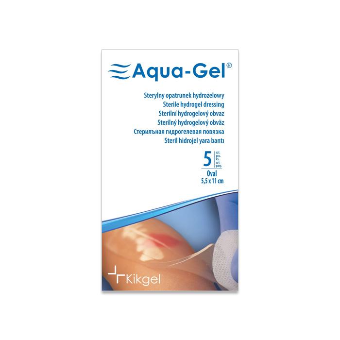 Aqua-Gel opatrunek hydrożelowy 5,5x11cm owalny