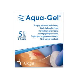 Aqua-Gel opatrunek hydrożelowy 6,5cm okrągły