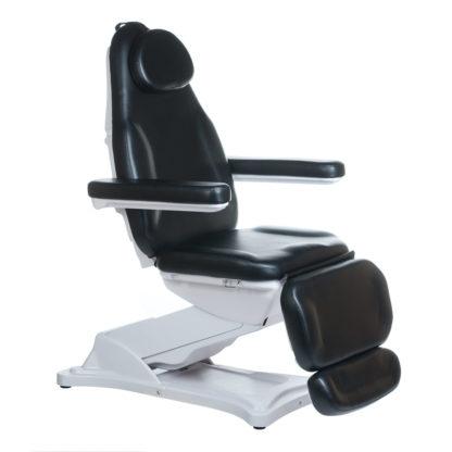 Elektryczny fotel kosmetyczny - MODENA - czarny