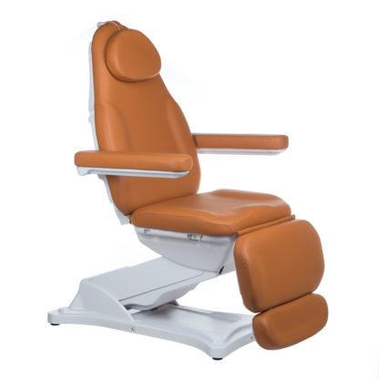 Elektryczny fotel kosmetyczny MODENA jasny brąz