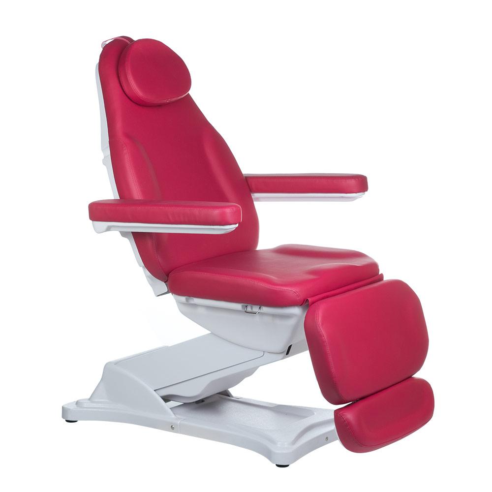 Elektryczny-fotel-kosmetyczny-MODENA-malinowy