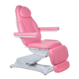 Elektryczny fotel kosmetyczny - MODENA- różowy
