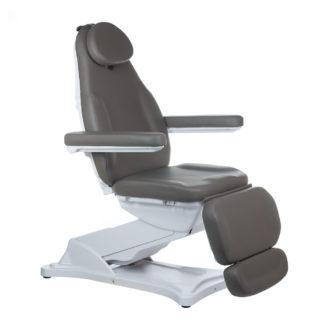 Elektryczny fotel kosmetyczny MODENA szary