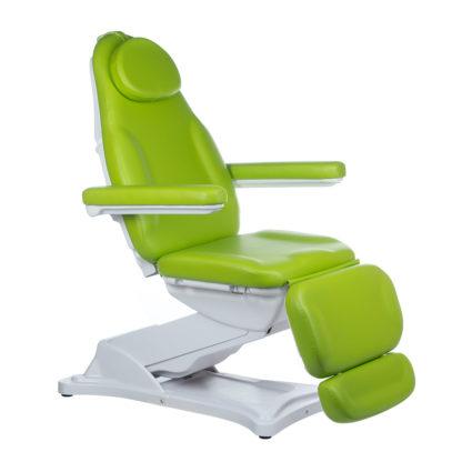 Elektryczny fotel kosmetyczny-MODENA-zielony