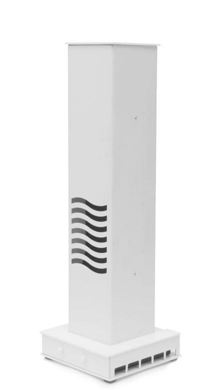 sterylizator tunelowy - biały