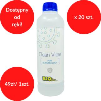 Clean Vitae płyn do dezynfekcji 1 L x 20