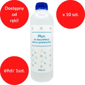 Manusteril płyn do dezynfekcji skóry - 1 L