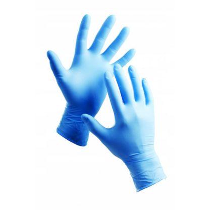 rękawiczki nitrylowe bezpudrowe