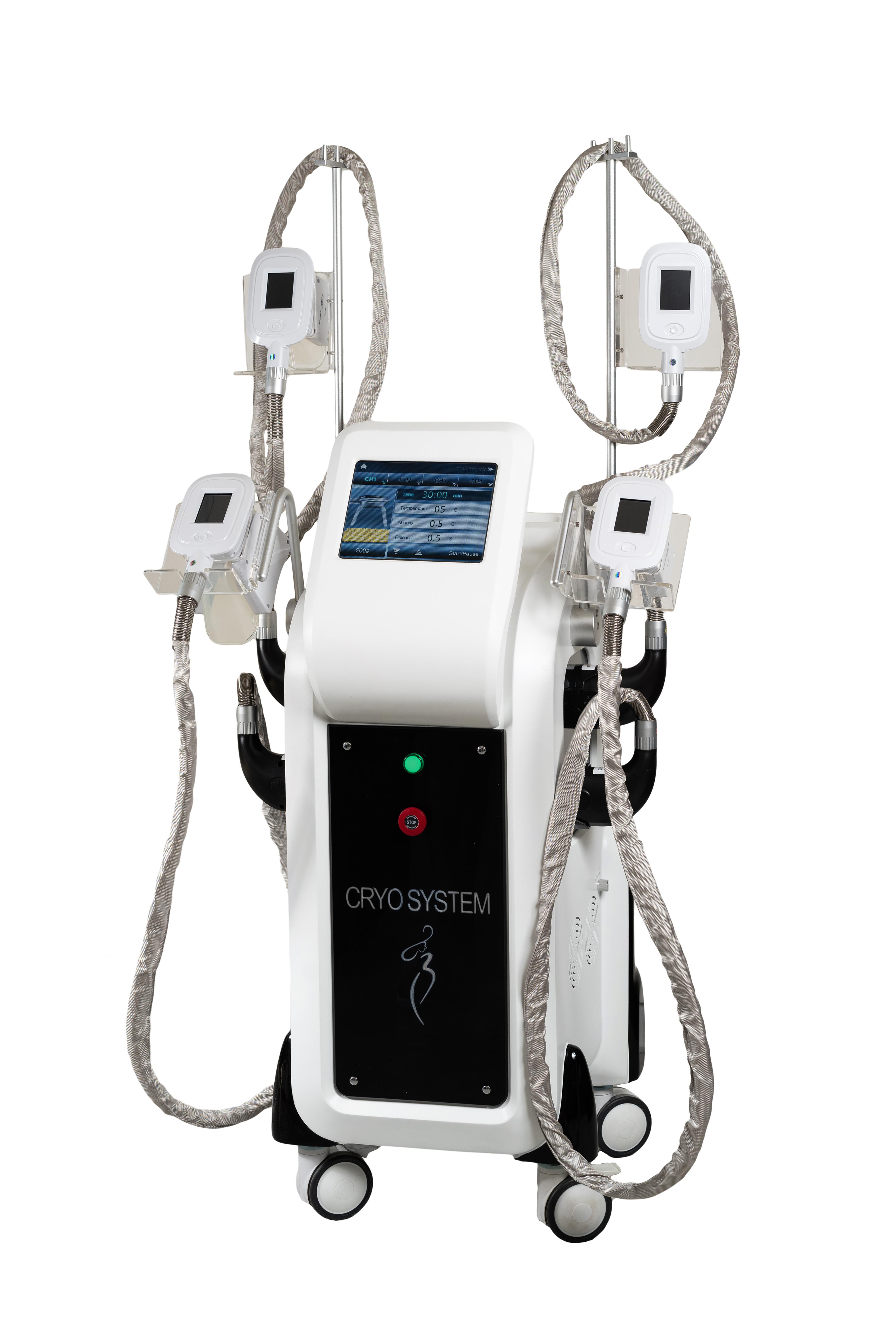 Urządzenie do kriolipolizy z 4 głowicami