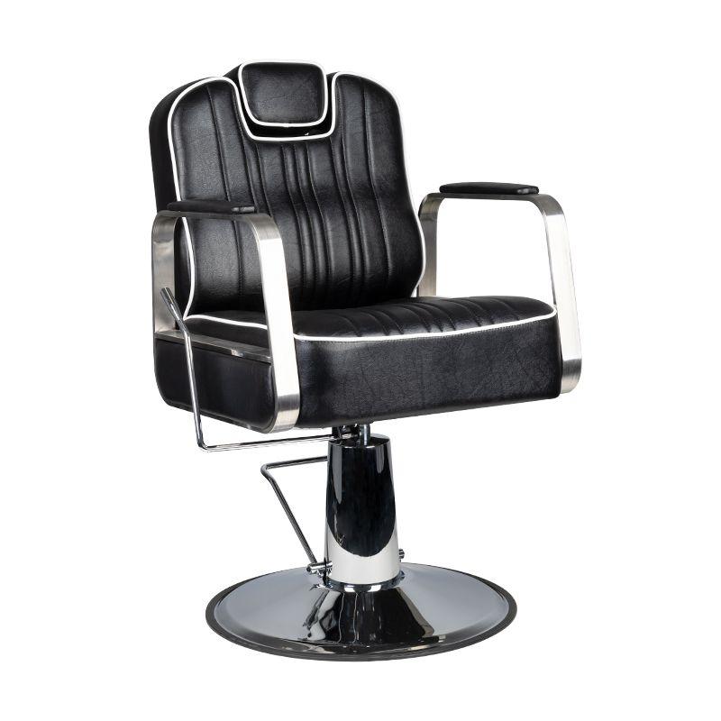 Gabbiano-fotel-barberski-Matteo-czarny