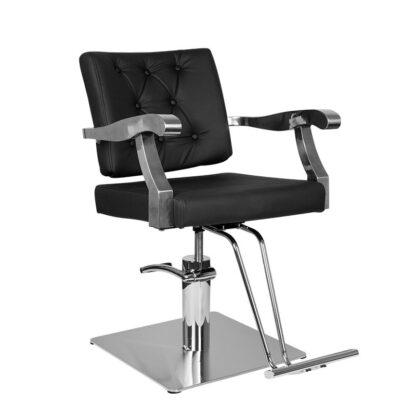 Gabbiano fotel fryzjerski Lyon czarny