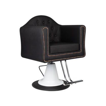 Gabbiano fotel fryzjerski Stutgart czarny