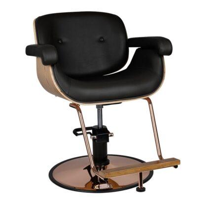 Gabbiano fotel fryzjerski Wenecja czarny